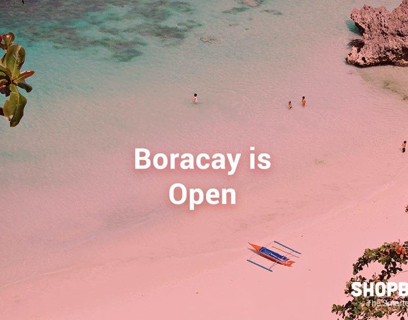 boracay island is open shopback