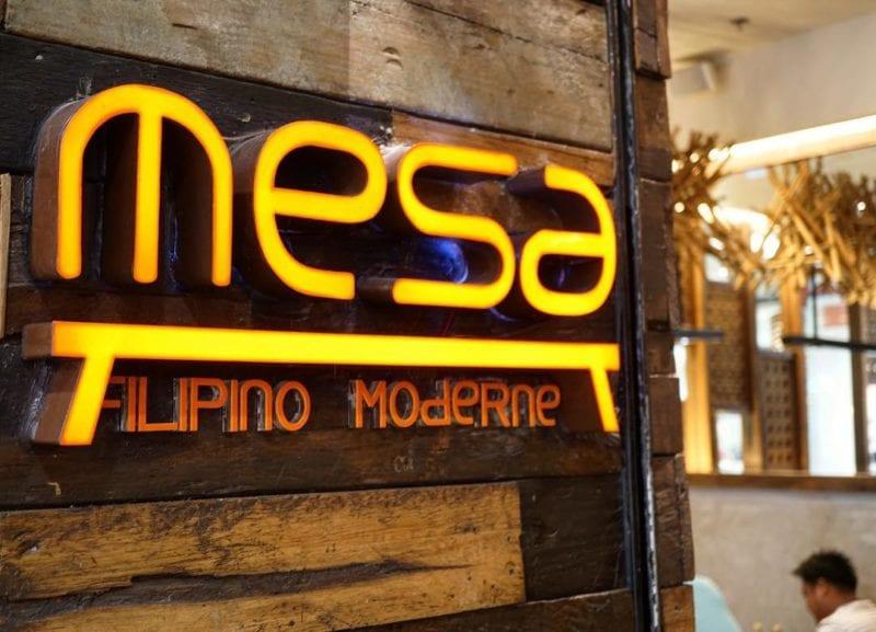 Mesa Filipino Moderne restaurant