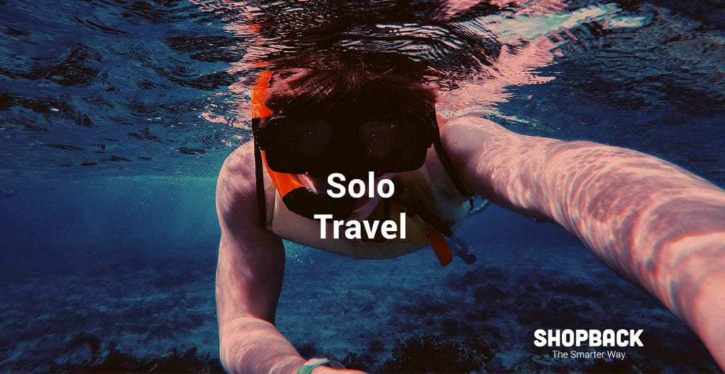 Solo travel with booking.com