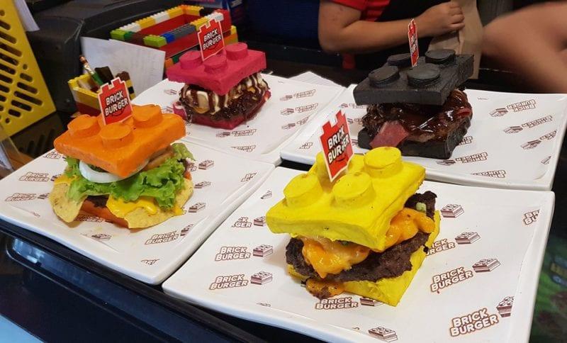 Burgers at Brick Burger