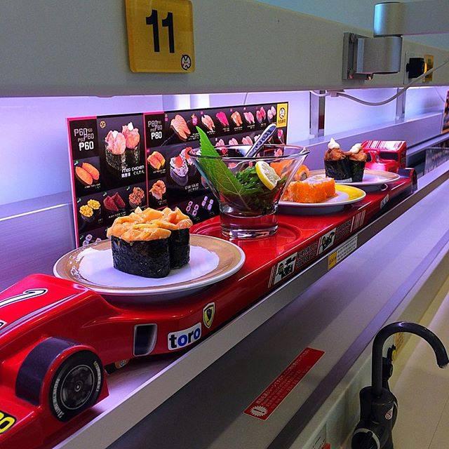 kaiten belt system sushi genki sushi