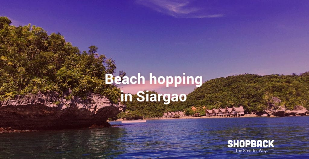 island hopping in siargao
