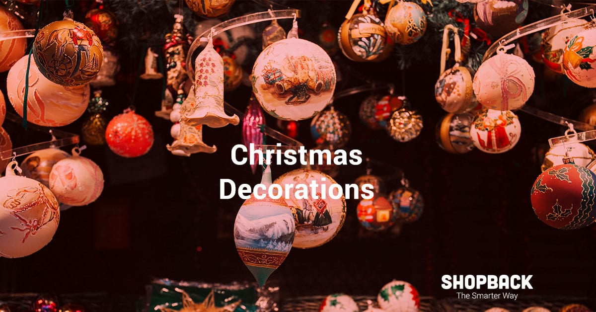 Here's Where to Buy Your Christmas Decorations Online