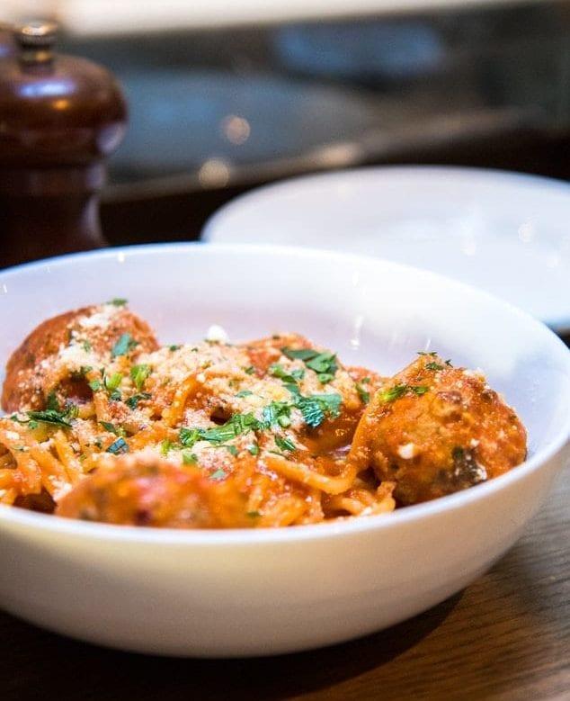 tomato based sauce spaghetti pasta