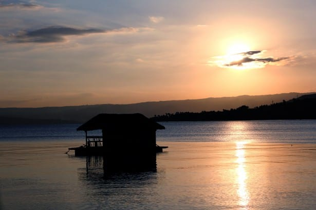sunset in batangas