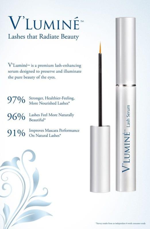 V'Lumine Eyelash Serum with applicator