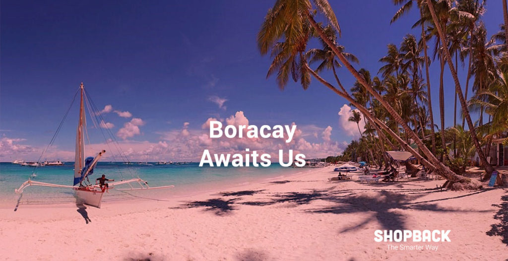 boracay white sands' beaches reopen