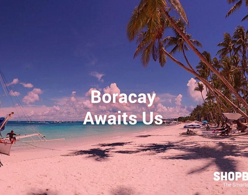 boracay white sands' beaches reopen