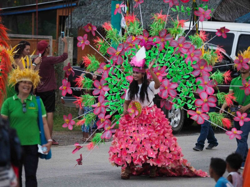 Balayong festival Phillippines