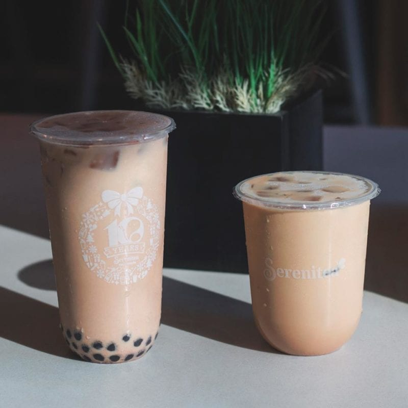 Regular & large sized cups of Serenitea