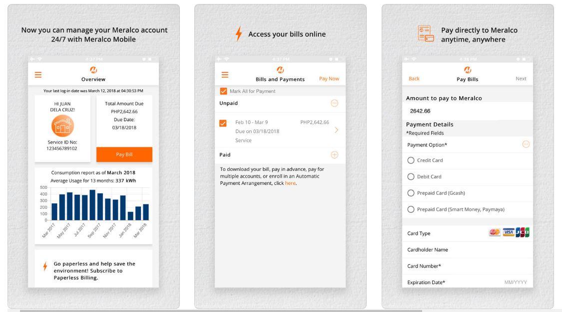 bills payment meralco app