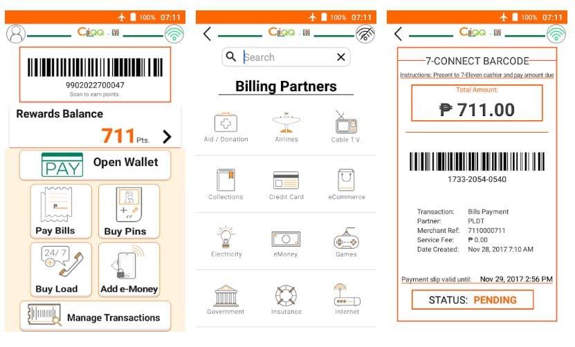 bills payment cliqq