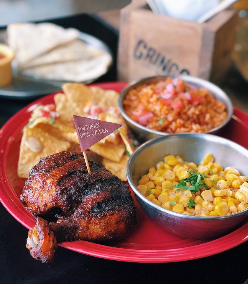 Gringo roast chicken