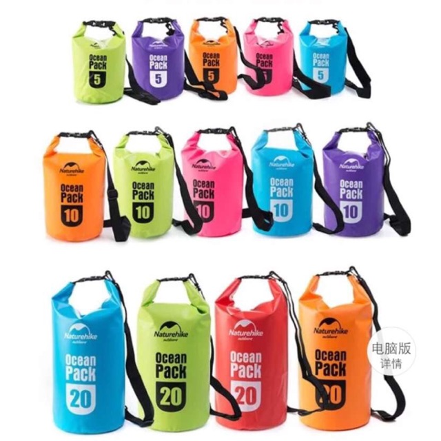 Ocean Pack Water Proof Dry Bag