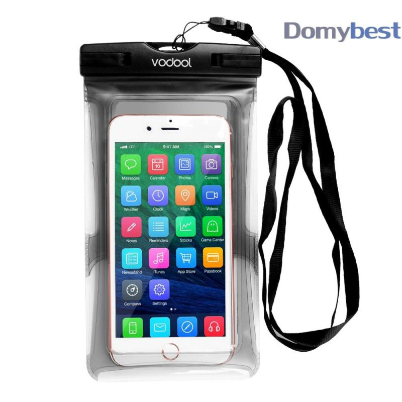 VODOOL 6.8 Inch Waterproof Case Underwater Mobile Phone Bag