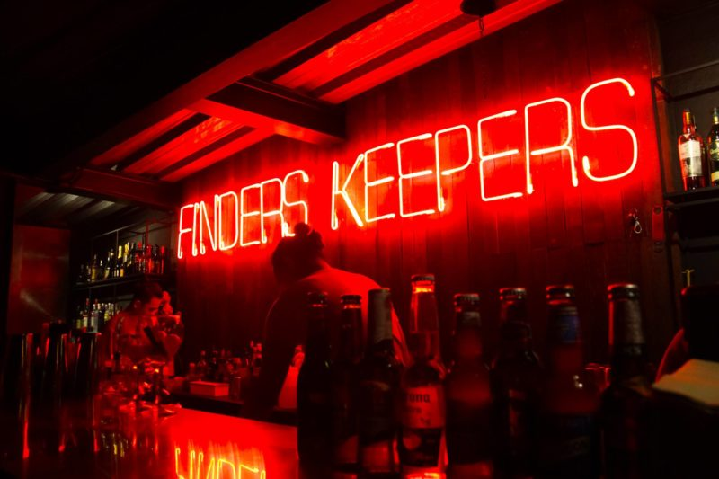 Finders Keepers bar Makati