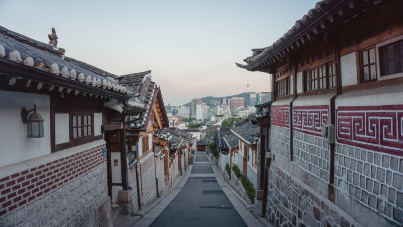 street in seoul during day, south korea
