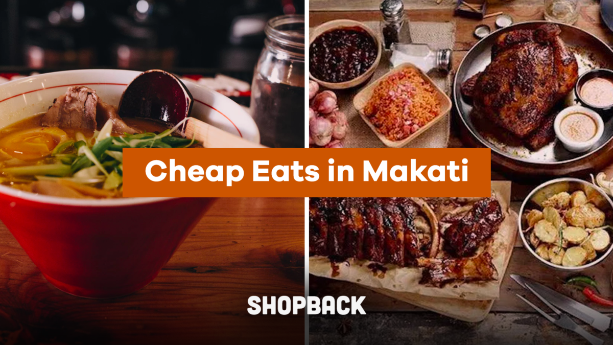 Here's Where To Find Food For Less Than P200 In Makati