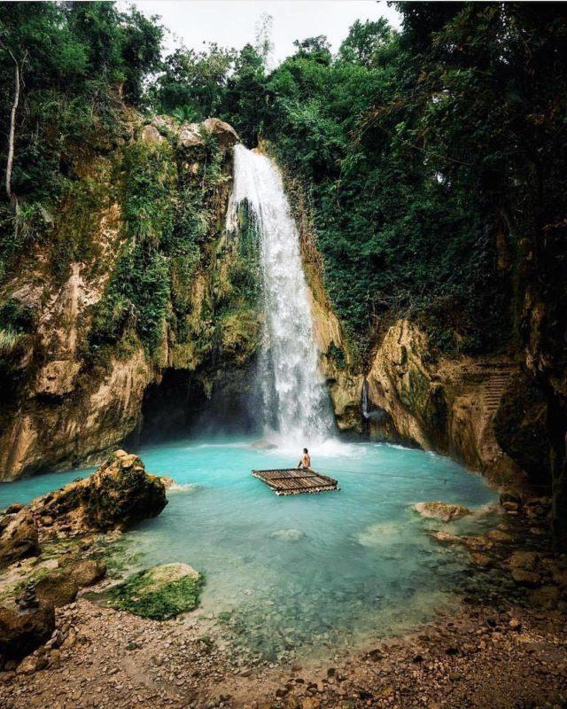 inabakan falls Cebu