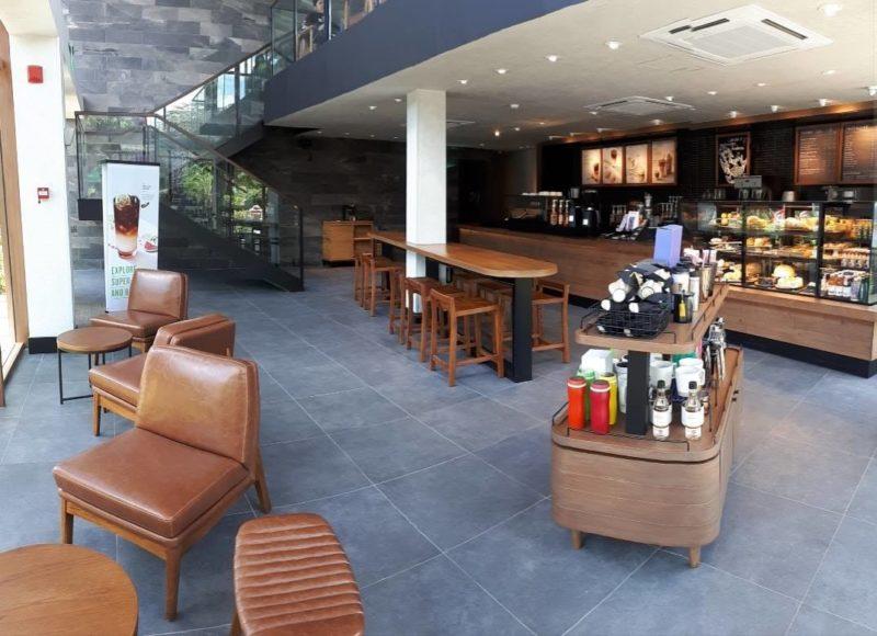Starbucks Crossroads Building