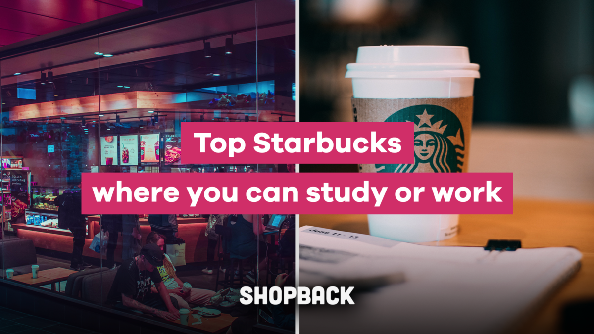 Best Starbucks Outlet in Metro Manila For Working, Studying or Just Chilling