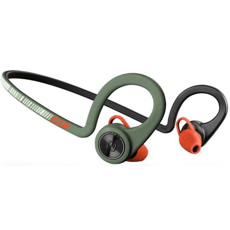 army green colour wireless earphones