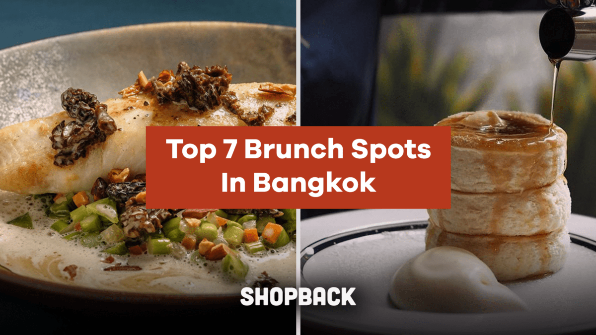 Top Cafes for the Perfect Brunch for When You're in Bangkok