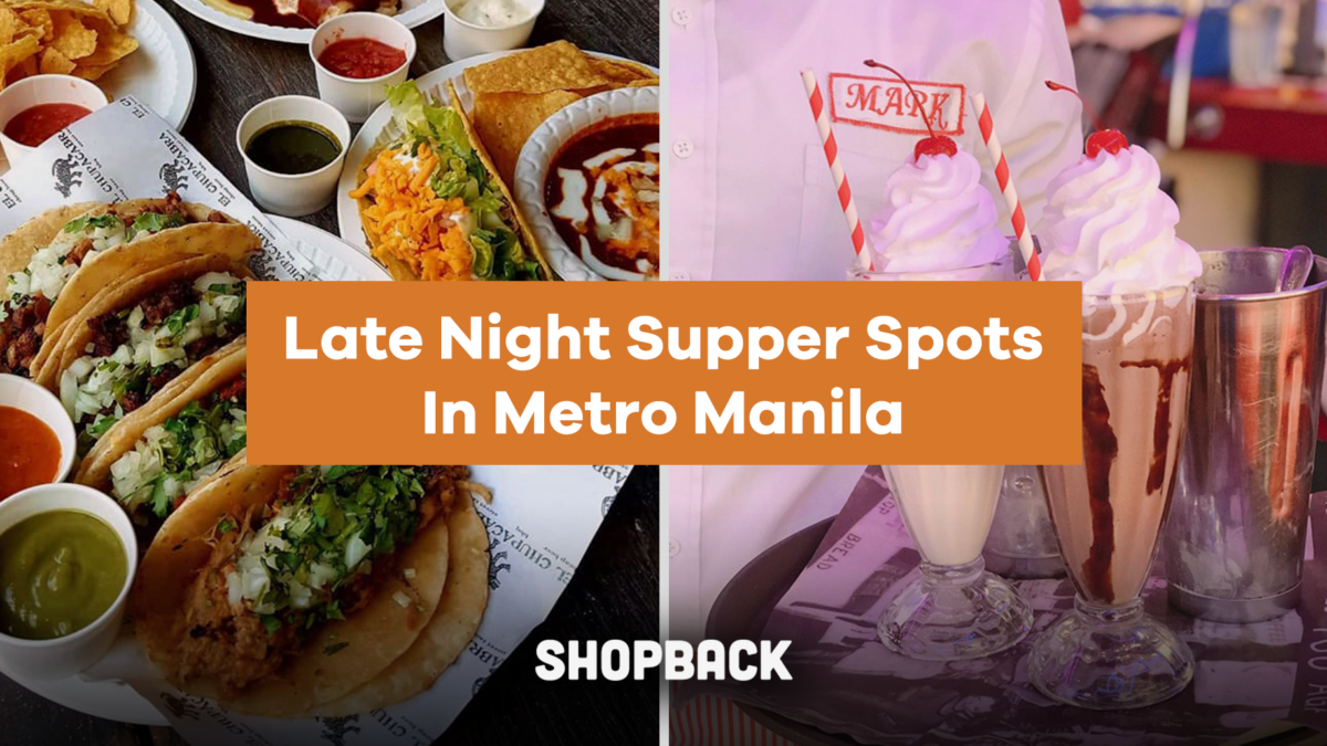 Late Night Supper Spots In Metro Manila For Below P470