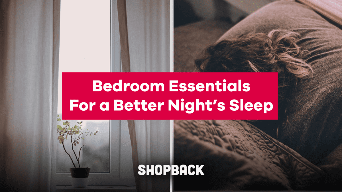 Bedroom Essentials That You Need To Get For A Better Night's Sleep
