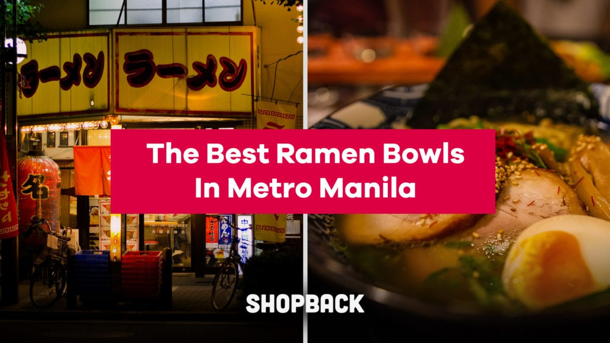 Ramen Wars: Battle of the best ramen bowls in Metro Manila