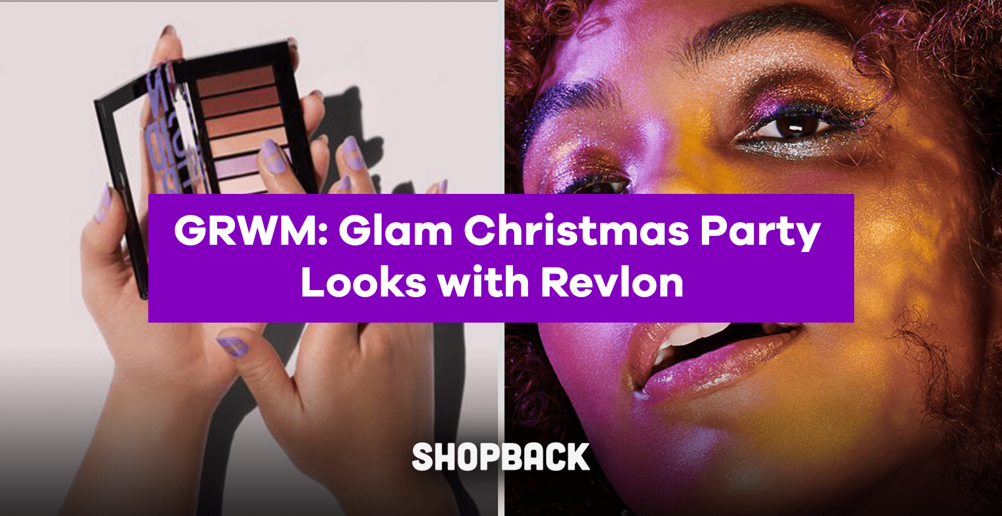 Grwm Glam Christmas Party Looks With Revlon Products From Just P350 Games are the ideal activities of a party. shopback