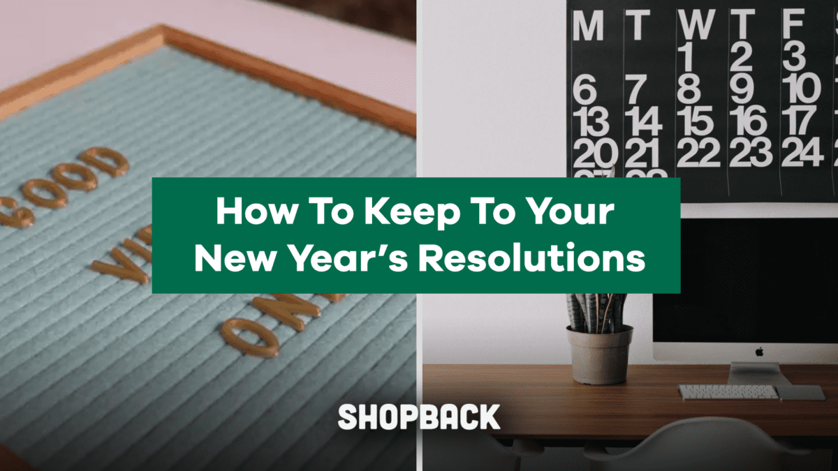 Here's How To Keep To Your New Year's Resolutions For The Whole Year