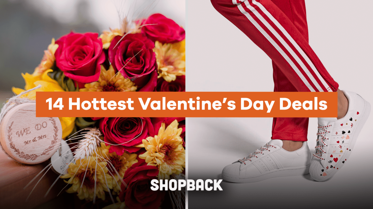 14 Hottest Valentine's Day Deals from ShopBack