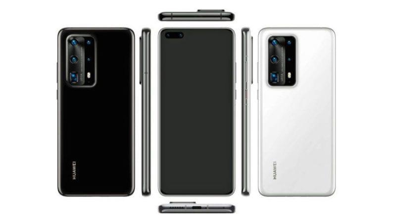 rumoured new Huawei smartphone design
