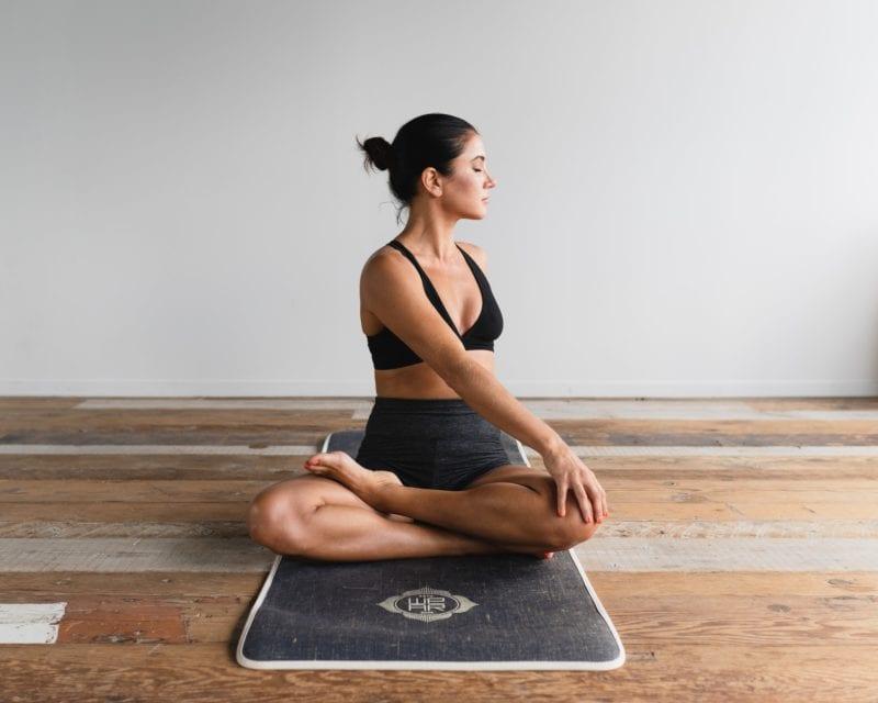 yoga mat home gym