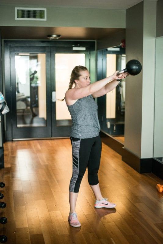 kettlebell home gym