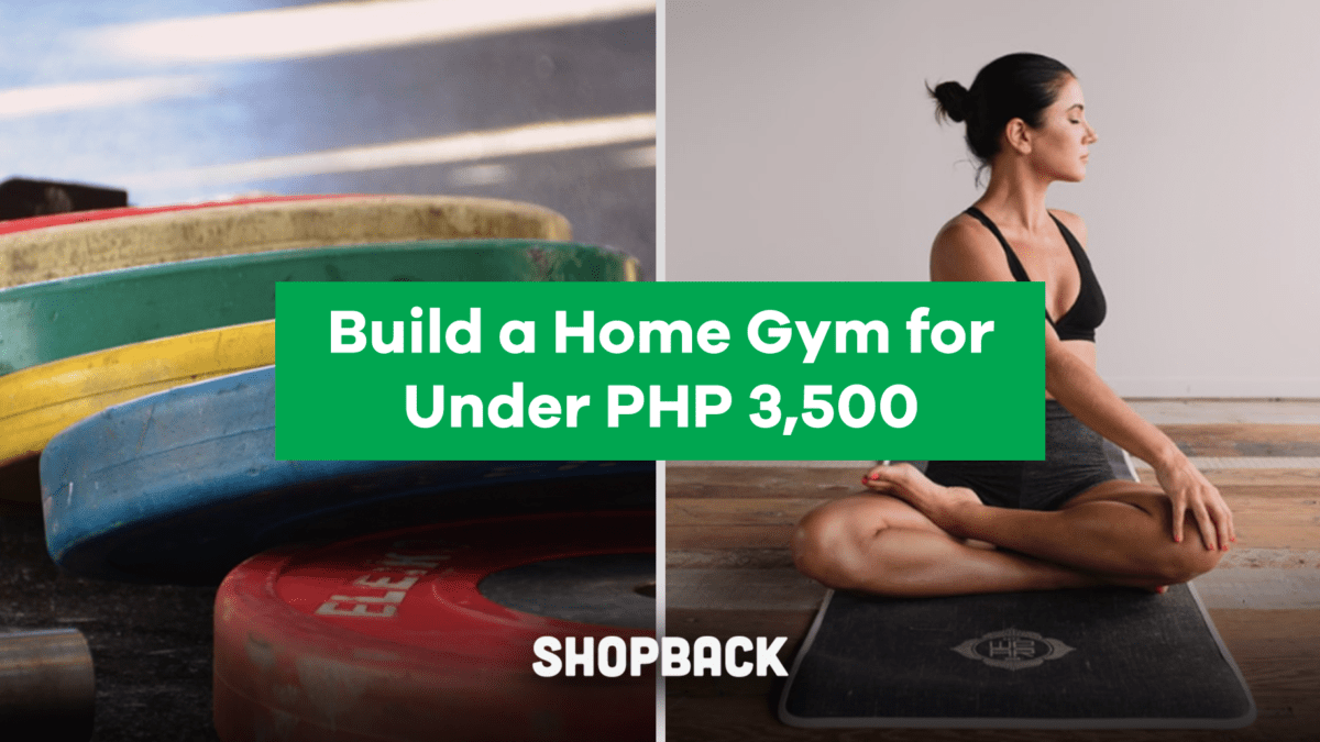 How To Build Your Own Home Gym For Under Php 3,500