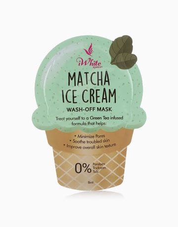 Matcha Ice Cream Mask