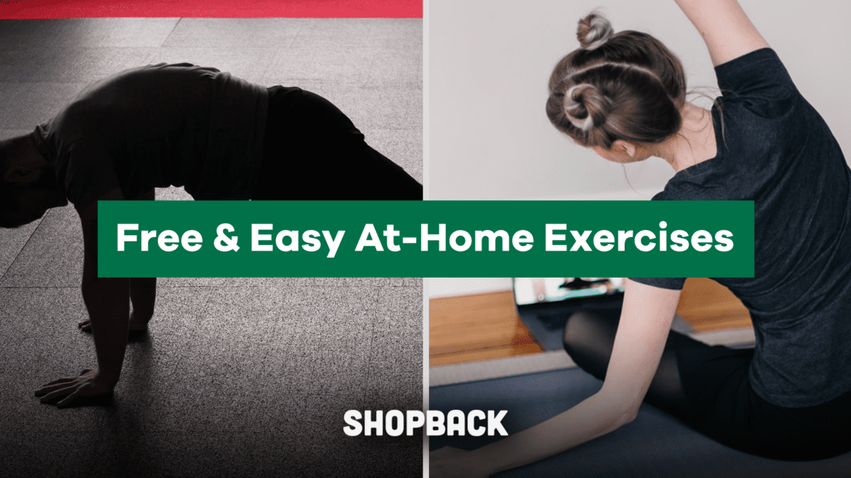 6 Easy Workouts You Can Do At Your Home