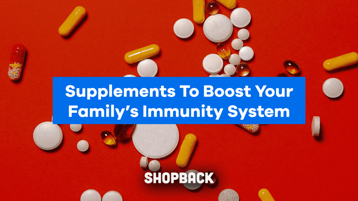 The Best Vitamins To Boost Your Family's Immune System