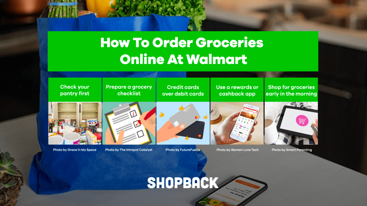 5 Useful Hacks When Shopping For Groceries Online At Walmart