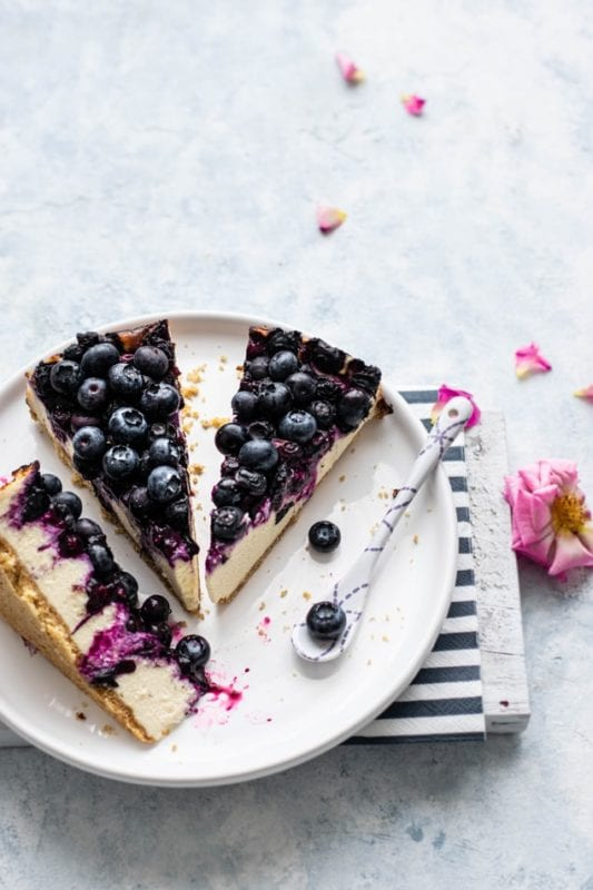 blueberry cheesecake delivery