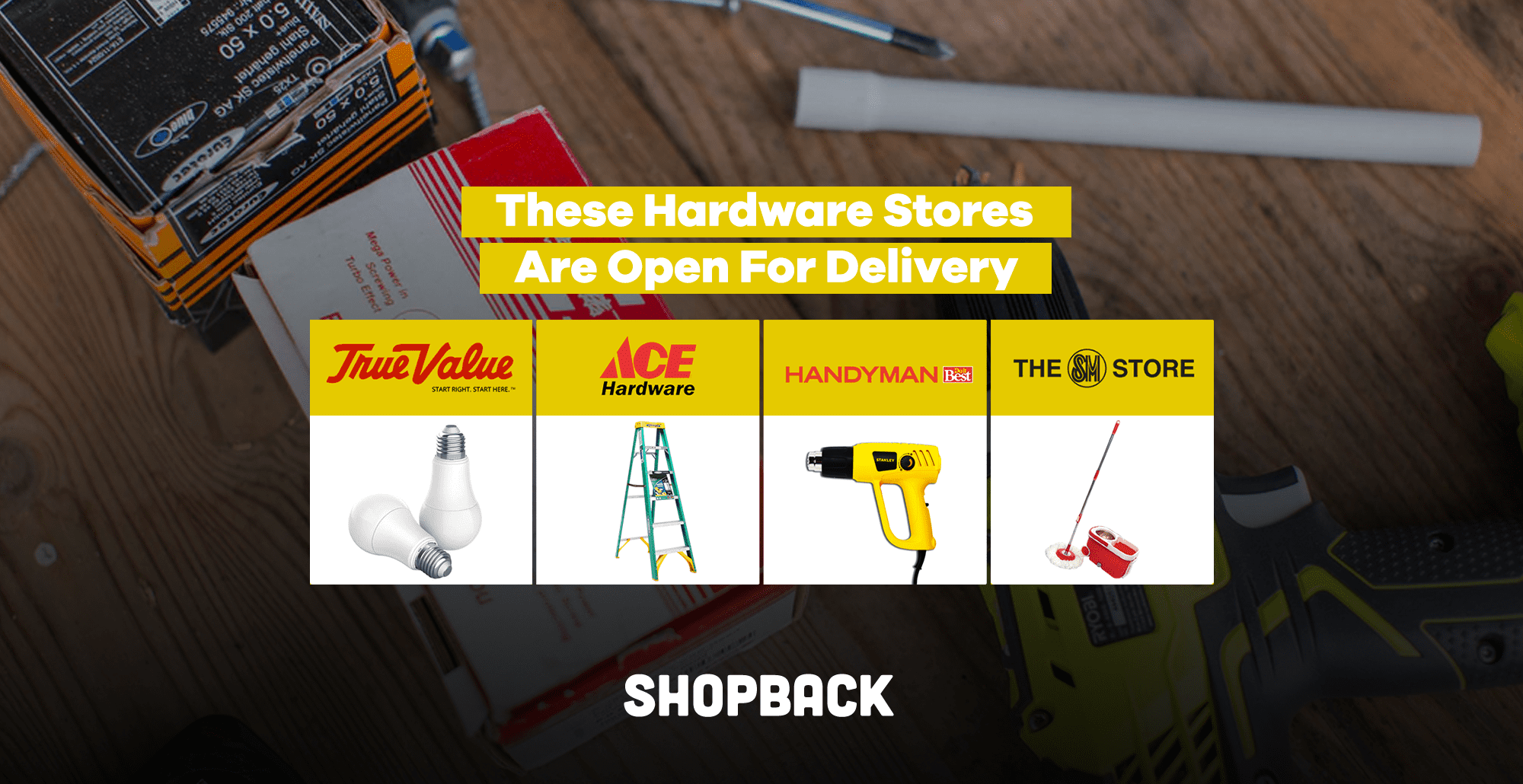 Six Hardware Stores That Are Open For Delivery During MECQ
