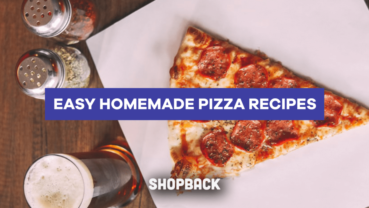 Want to Make Homemade Pizzas? Start with These 5 Beginner Pizza Recipes