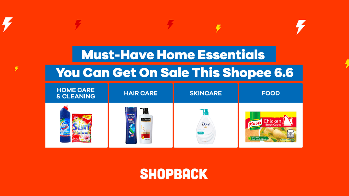 Must-Have Home Essentials You Can Get On Sale This Shopee 6.6
