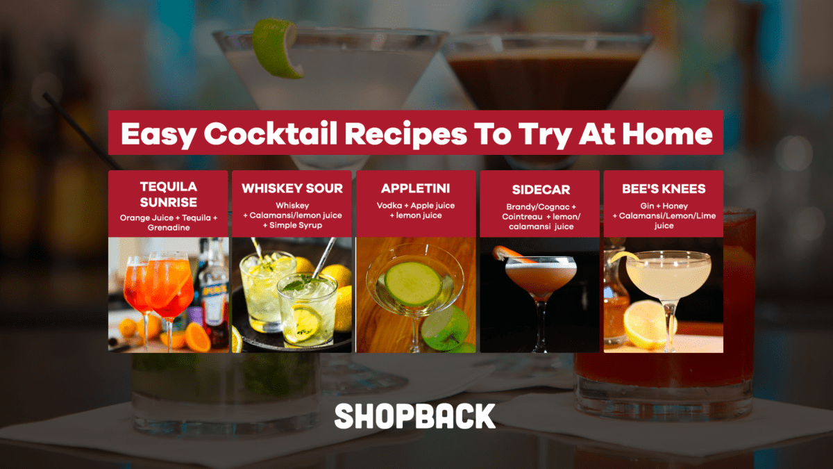 7 Fuss-Free and Easy Cocktail Recipes That Will Make You Look Like A Pro