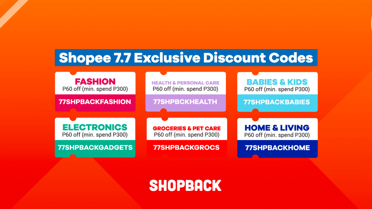 All The Shopee 7.7 Exclusive Discount Codes and Promos You Need To Know