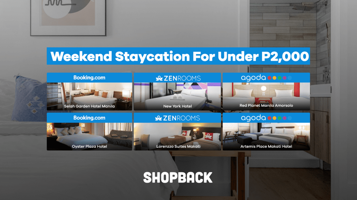 Six Budget-Friendly Hotels Under P2,000 For Your Weekend Staycation