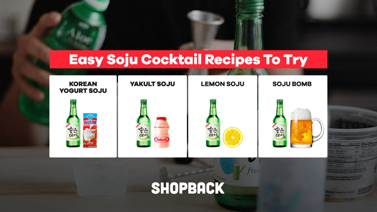 Easy DIY Soju Cocktail Recipes To Try This Weekend