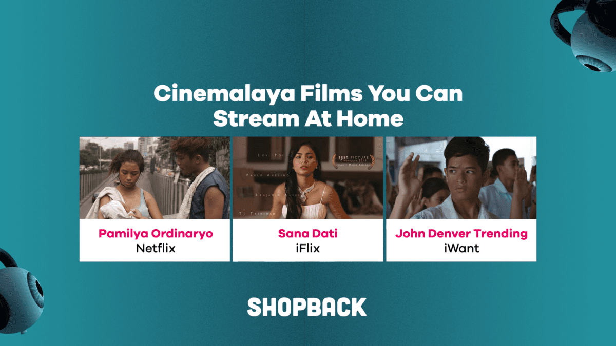 LIST: Cinemalaya Films and Pinoy Movies You Can Stream Online